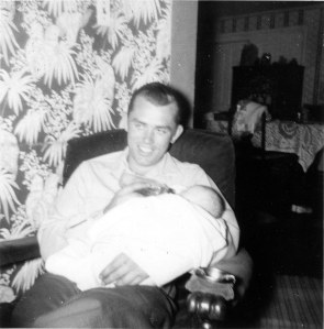 dad and baby who